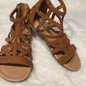 Girls size 12 sandals